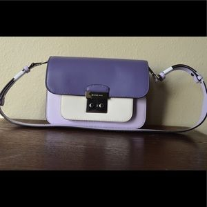 Micheal Kors Sloan Editor Leather Shoulder Bag